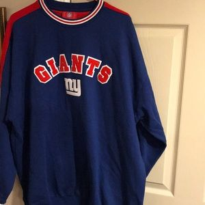 NFL Men's Size 2X NY Giants Heavy Sweatshirt
